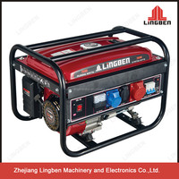 ZheJiang LingBen Low Price 1.5-3KW Portable Air Cooled Power Gasoline Generator Set 168F-1 Engine Factory In TaiZhou