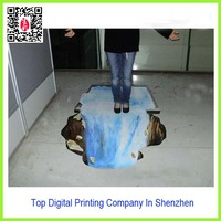 Cheap Sticker !! Lenticular 3D Floor Sticker Dispaly In Guangdong