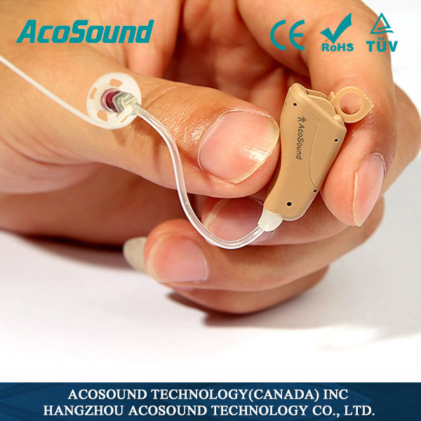 Alibaba China Sound Acomate 821RIC High Quality hearing aid device,most powerful ear hearing amplifier prices