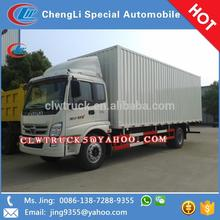 2015 China good price Foton single cabin/double cabin cargo truck