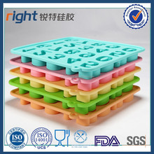 Numbers / Symbols Mold for Ice Decorating Silicone Mold Tray Random Colore / Chocolat