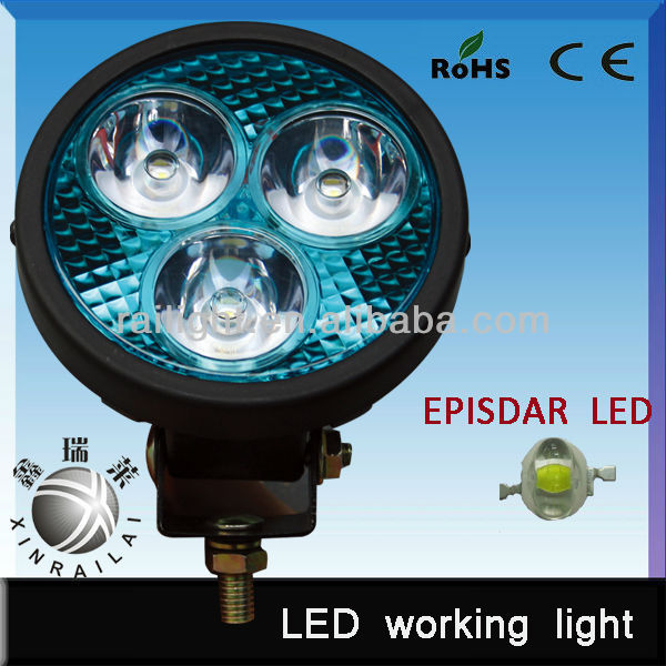 superior quality cheap Espistar LED round 9w led auto lamp for car