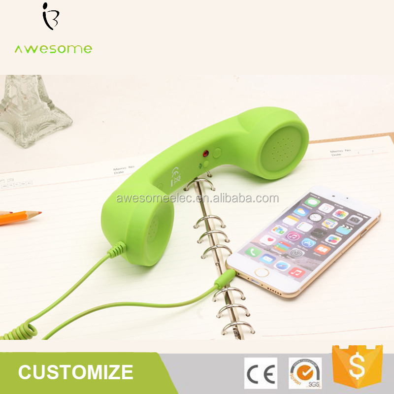 High Quality New Coco Phone Retro Handset For Smart Phones And Laptops, Anti-radiation Coco Phone With Volume Control