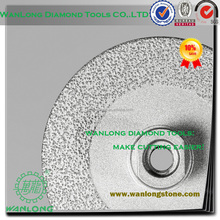 high efficiency vacuum brazed 3 inch diamond cutting wheel for stone grinding,small diamond grinding wheel manufacturer