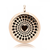 wholesale aromatherapy oil loket pendant diffuser necklace