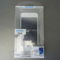 Custom Clear plastic cell phone case retail packaging