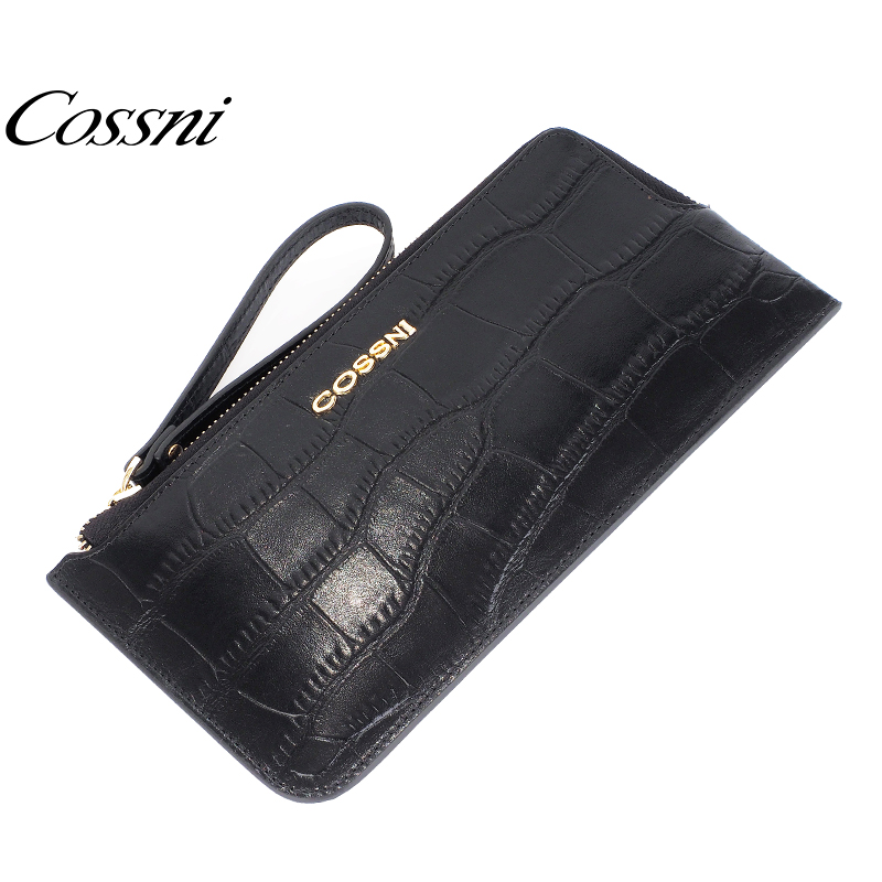 cossni genuine leather wholesale leather cell phone wallet