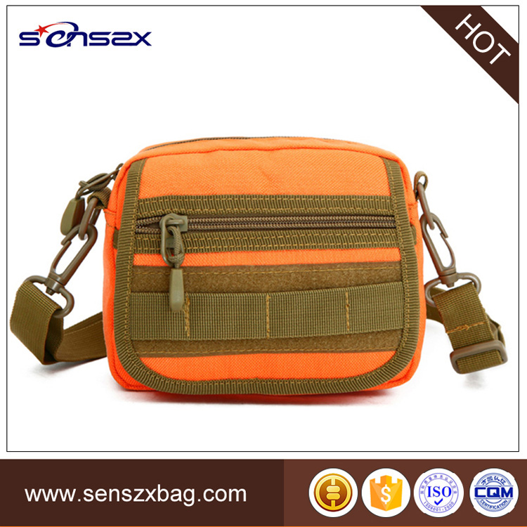 Customizable high quality military small waterproof sling bag for teenagers