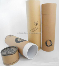 Paper tube custom printed round gift boxes for clothing