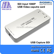 Full Hd 60fps Sd/ hd Sdi Video Audio Capture With USB3.0 Support 1080P/60Hz