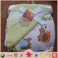 2015 hotsell Super soft sherpa and microplush newborn baby blanket