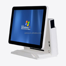 AK-915T Touch Screen POS system restaurant ordering machine supermarket cashier equipment POS terminal