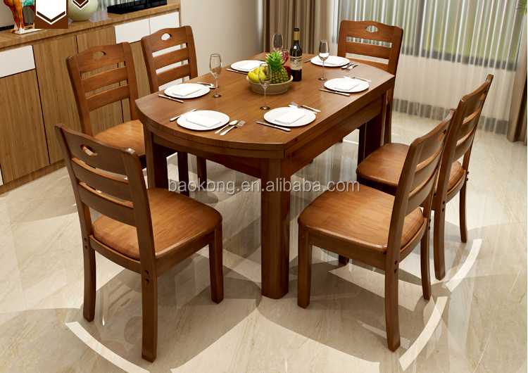Solid Wood Dining Room Home Furniture