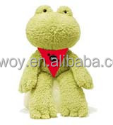 Best gift plush stuffed frog life size logo