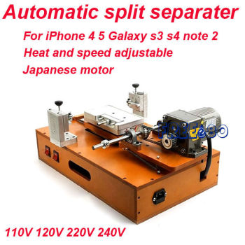 automatic fix spilt separate broken lcd display machine for iphone 4 4s 5