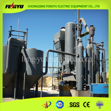 200kw Wood chip waste biomass gasifier, saw dust biomass gasification power plant