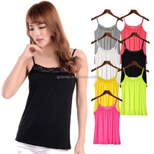2016 2017 Top Quality Customized 7 Colors Camisole Yoga Tops For Women
