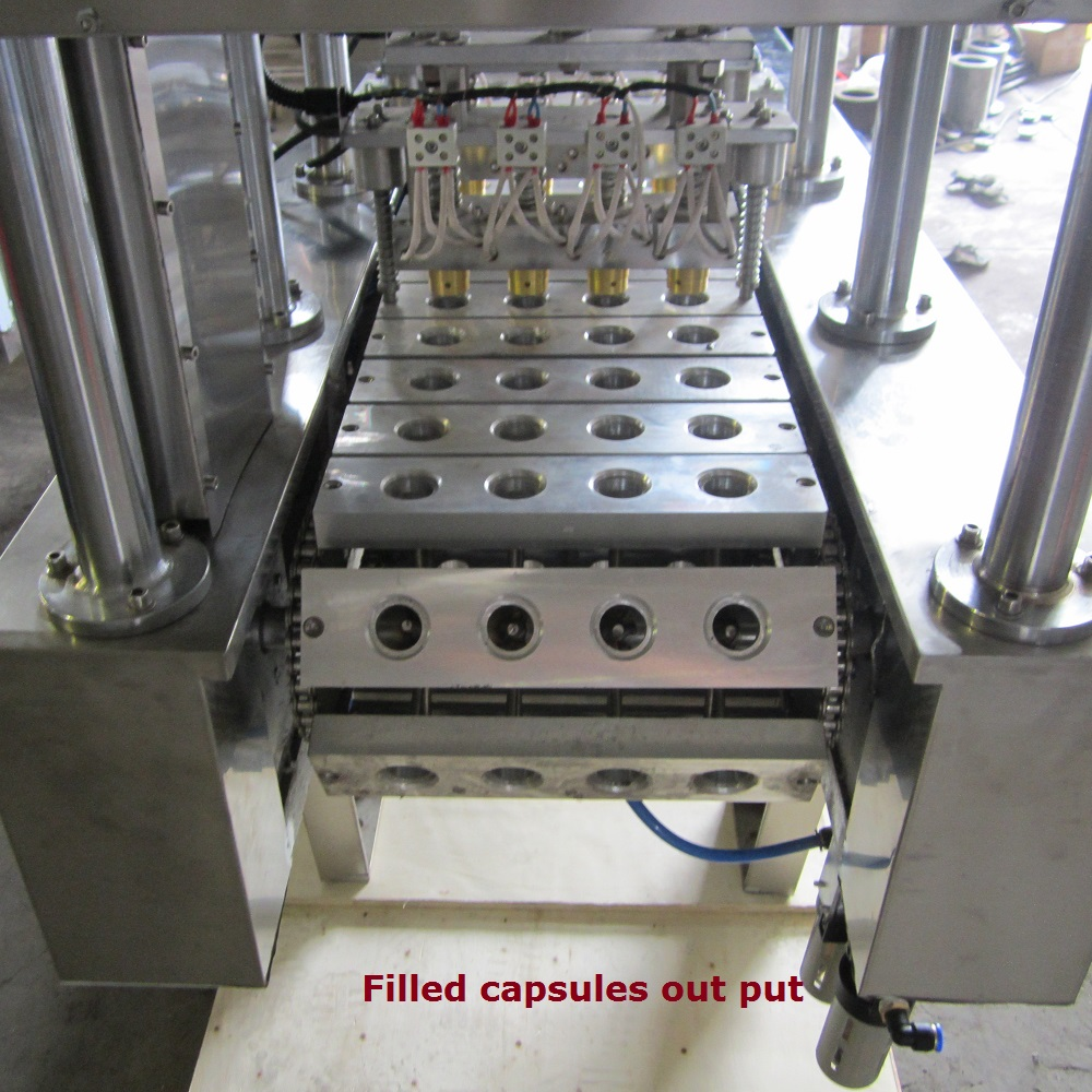 BHP-4 coffee powder filling and sealing machine High quality and Easy to operate !!!