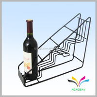 High Quality metal wire drink bottle red wine display stand