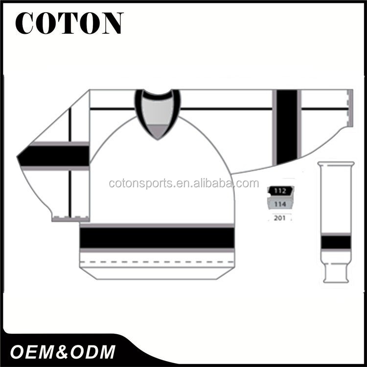 Best Selling Products OEM Logo Printed Custom dye sublimation ice hockey jersey Support OEM