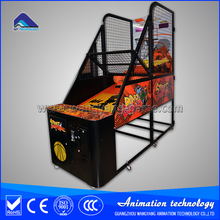 Electronic basketball hoop machine coin operated basketball machine for game center
