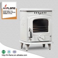 Indoor Wood Heaters Type Cast Iron Wood Burning Stove and Freestanding Wood Fireplace HF217E