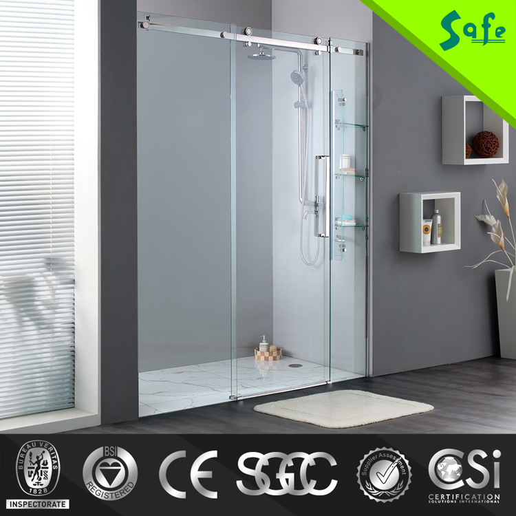 Modern decoratrion design for shower screen