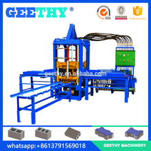 V5 concrete interlocking hollow block making machine / brick making machine price / small scale industries machines