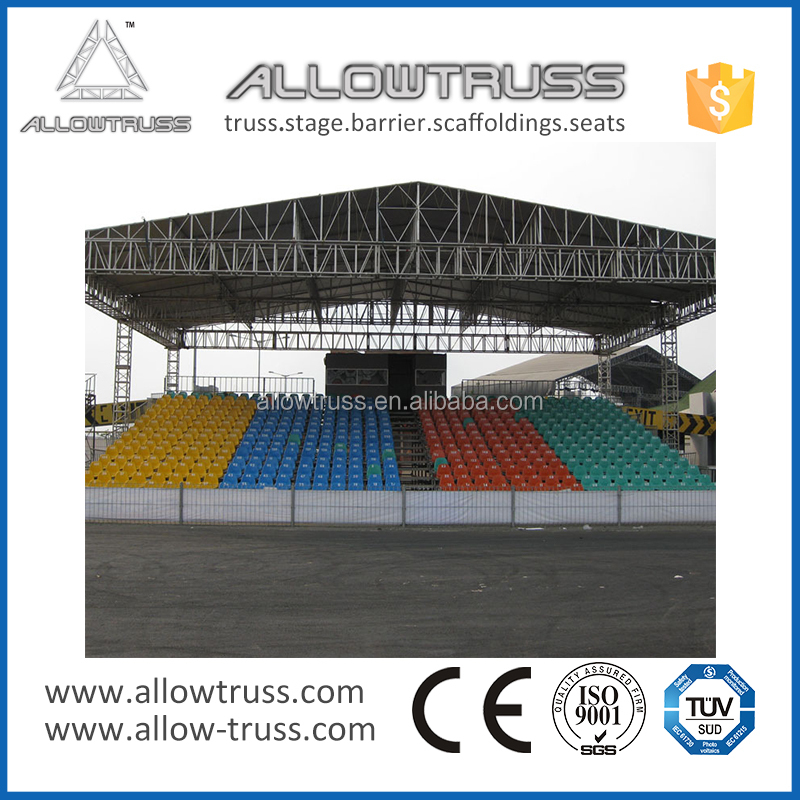 2016 fashionable aluminum used portable bleachers for sale