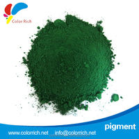 Pigment Green 7 chemical pigment coating enamel frit
