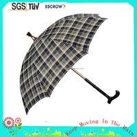 Low price top sell seat walker umbrella for walking stick
