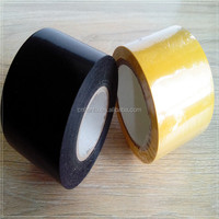 high voltage PVC tape for electrical industry China for pipe