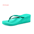 Platform Ladies Flip Flops High Heel Slipper Sandals Beach