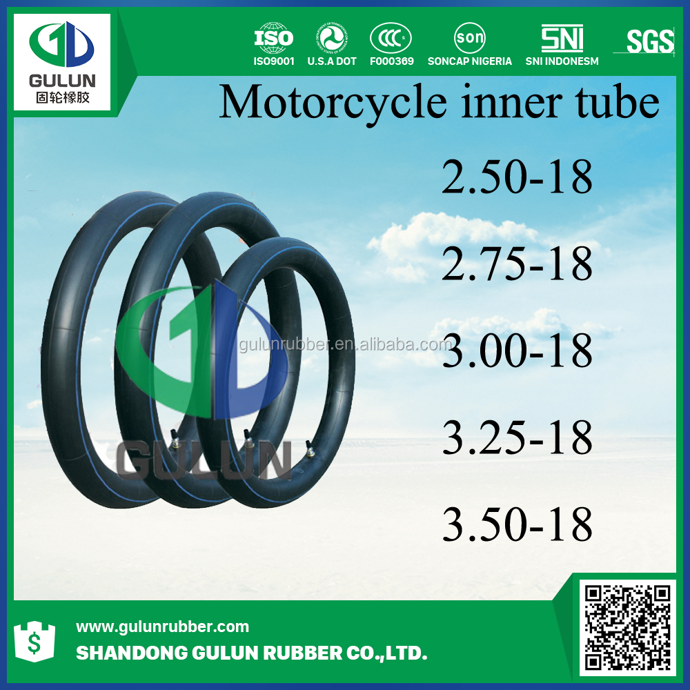 China motocycle spare parts ,motorcycle tyre inner tube 2.50-18 2.75-18 3.0018 3.25-18 3.50-18