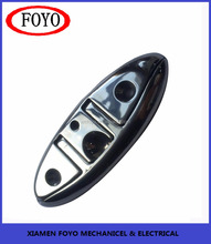 oval wholesale 316 stainless steel pull up folding cleat for marine boats accessories with high quality
