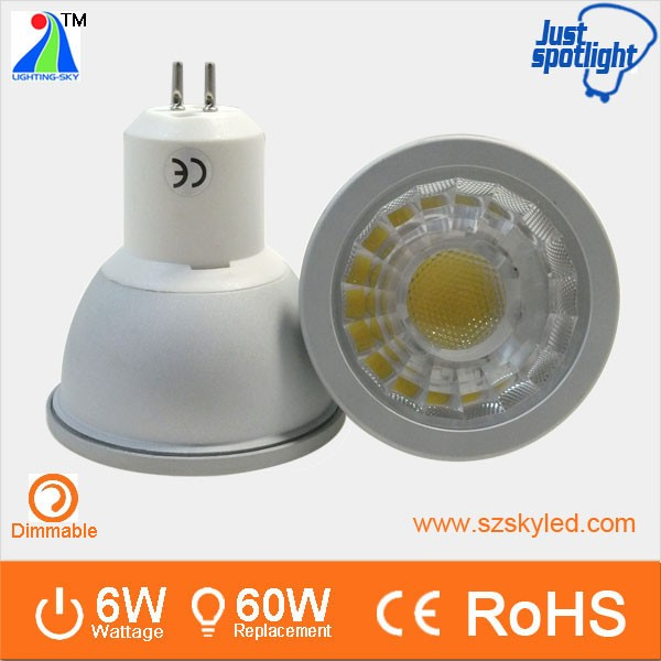 led lighting for display cases for jewelry cob spotlight gu5.3 220v led