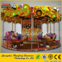 kids ride used carousel horse for sale/carousel horses plastic/toy carousel horse