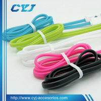 flat noodles type for android usb cable