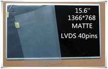 New 15.6'' Slim LCD monitors For Laptop 1366*768 LVDS 40Pins N156FGE-L51 Widescreen