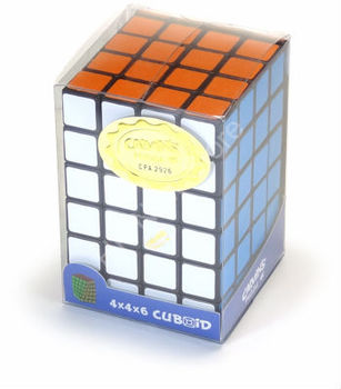 Magic cube TomZ 4x4x6 Cuboid Black Body in small clear box