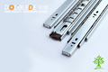 1.2*1.2*1.2mm Thickness High Quality 45mm Width 3-fold Ball Bearing Drawer Slide