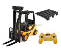 1:8 Scale Friction Fork Lift with Pallets Warehouse Truck Vehicle Toy RC Forklift for Kids