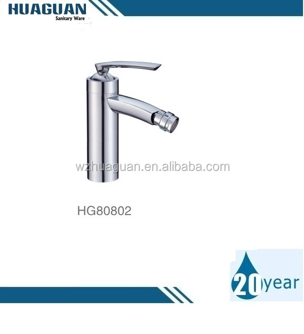 Brass single lever chrome plated women wash bidet faucets