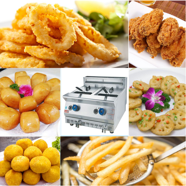 professional french fries oil fried potato chips making machine