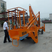 new design high quality factory price small hydraulic mobile boom lifts with CE ISO certification