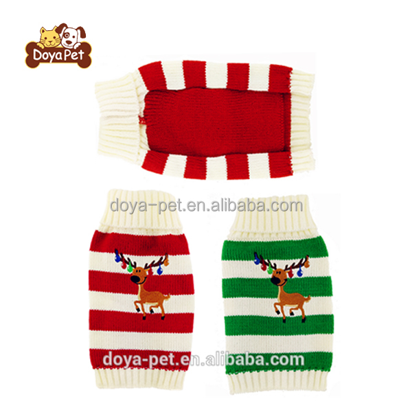 Hot Sell Winter Small Dog Puppy Christmas Sweaters Cute Pet Clothes