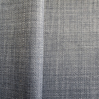 slubbed pattern 300D imitation linen 100% polyester woven fabric for curtain sofa