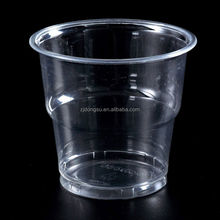 Specially designed cup for Australian market, 6oz to 12oz clear disposable plastic promotional cup for cold beer or ice cream