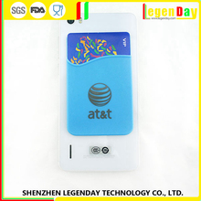 Hot Sale Silicone Business Credit Card Holder