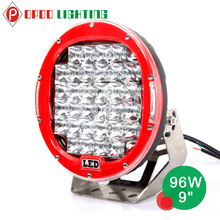 ARB great white led driving lights,high power 12v 9inch 96w ip68 great white led driving lights